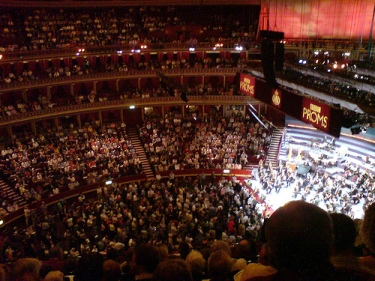 Inside the Royal Albert Hall at Prom 16